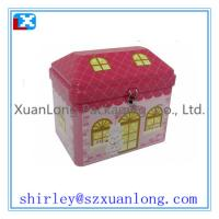 Quality House Shape Gift Tin Box For Candy for sale