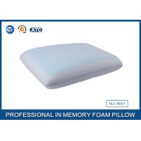 Wholesale Classic Memory Foam Cooling Gel Pillow with Light Blue Cool Pillow Case from china suppliers