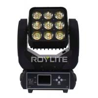 Buy cheap 8° Lens LED Moving Head Light Matrix Beam Light 9pcs 15w RGBW Separately Control from wholesalers