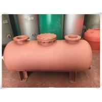 Wholesale Carbon Steel Horizontal Air Compressor Receiver Tank Of Screw Compressor Medium Pressure from china suppliers