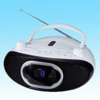 China Portable CD Player with Built-in Stereo Speakers, Stereo FM Reception and Analog Tuning on sale