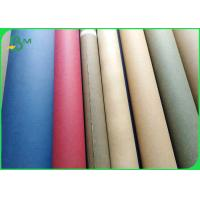 Biodegradable Sewable Washable Kraft Paper Fabric 0.55mm thick 150cm Width for sale