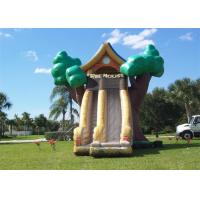 Quality Tree Shape Commercial Inflatable Slide , China Inflatable Slide With Great Fun for sale