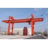 Movable Double Girder Gantry Crane 50Ton Container Cabin Pendant Remote Control for sale