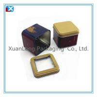 Wholesale Wholesale Square Metal Tea Tin with window from china suppliers