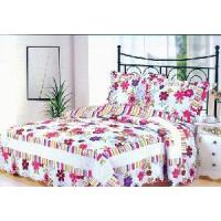 Quality 100% Cotton Quilted and Printed Comforter Set for sale
