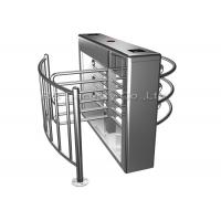 Wholesale RFID Card Reader Fingerprint Turnstile Full Height 304 Stainless Steel from china suppliers