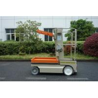 Wholesale 5 M Self Propelled Elevating Work Platforms Stock Picker Alumium Aerial Order Picker from china suppliers