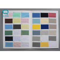 China Plain Style Anti Static Polyester Fabric , Electrostatic Dissipative Materials OEM on sale