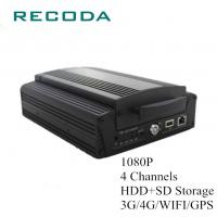 Wholesale 1080P 4Ch HDD/SD 4G/WIFI/GPS Mobile Vehicle DVR from china suppliers