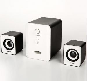 Wholesale SADA D - 201 3.5mm Wireless Bookshelf Speakers HiFi Stereo Loudspeaker For Computer from china suppliers