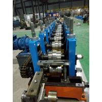 Wholesale C / Z Purlin Roll Forming Machine , Sheet Metal Roll Forming Machines from china suppliers