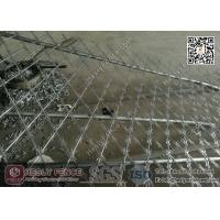 Wholesale 1.8mX6.0m CBT-60 Welded Razor Security Fencing 150X300mm Diamond Aperture from china suppliers