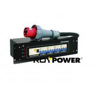 Quality 63A 5 pin 3 Phases Portable Power Distribution Box Power Distributor 380 - 400 V for sale