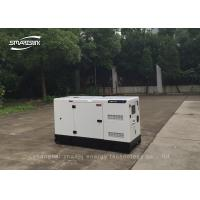 Electric Water Cooled Diesel Generator Set 3 Cylinders 8kw / 10kva for sale