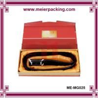 Wholesale Luxury design men belt packaging box with velvet insert ME-MG026 from china suppliers