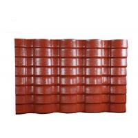 Wholesale PVC Resin double roman roof tiles Corrugated Roofing Sheets 40mm Wave Height from china suppliers