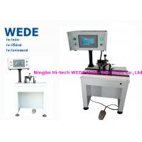 Wholesale Impeller / Rotor Balancing Machine , Armature Balancing MachineWith Weight Adding Style from china suppliers