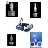 China High Accuracy Glass Engraving Equipment , Laser Marking Machine For Glass on sale