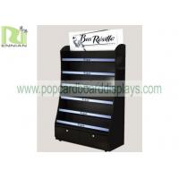 China Customized Wood Display Rack Shelf Stand Spray Paint Assembled Long Lifespan for sale