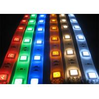 RGB 24v Flexible Outdoor Led Strip Lights , Decorative Strip Lighting For Mall for sale
