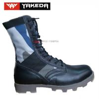Wholesale Military Sport Tactical Combat Boots Anti - Static Genuine Leather from china suppliers