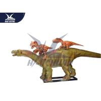 China Life Size 3d Animated Dinosaur Model Decoration For Playground / City Center for sale