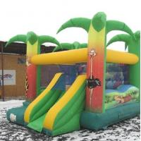 Wholesale Chirdren Jump N Slide Jungle Bouncy Castle Super Heroes Durable 0.55mm PVC from china suppliers