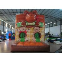 Wholesale Lovely Obstacle Course Bounce House , Kids Inflatable Obstacle Course 3 X 9x 3m from china suppliers