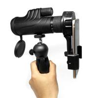 Wholesale Rubber 6-18x42 Long Range Monocular Cell Phone Telescope With Tripod from china suppliers