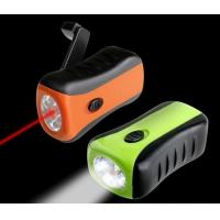 Quality Customized ABS 500m Laser Electronic Mini LED Flashlights, 1 Laser Light + 6 LED for sale