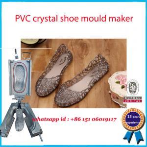 China Transparent PCU  PVC Shoe Mold Monocolor 90-100 HRC High Hardness on sale