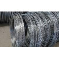 China Various High Quality BTO CBT Types Razor Barbed Wire With Single / Cross Coil on sale