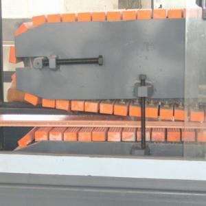 China PP / PE Wood Fiber WPC Door Machine For Pallet Profile Door Frame Profiles on sale