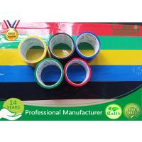 Quality BOPP Film Coloured Packaging Tape , Water Based Acrylic Adhesive Tape for sale