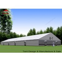 Buy cheap Large Outside Tents Aluminum A Frame Structure With Glass Walls from wholesalers