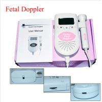 China JPD-100S6 LCD Pocket Fetal Doppler Ultrasound Prenatal Detector Baby Fetal Heart Monitor on sale