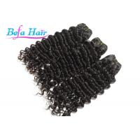 Wholesale Natural Black Unprocessed Virgin Human Hair Brazilian Deep Wave Curly Virgin Hair from china suppliers