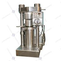 China Commercial Groundnuts Hydraulic Oil Press Machine Food Grade 4kg / Batch Capacity for sale
