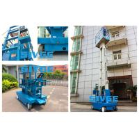 Wholesale Dual Mast Self - Propelled Aluminum Work Platform With 8m Platform Height from china suppliers