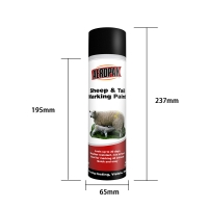 Wholesale Acrylic 500ml Aerosol Animal Marking Paint Spray ISO9001 from china suppliers