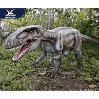 China Theme Park Robotic Life Size Realistic Dinosaur Models With 12 Months Warranty for sale