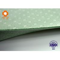 Wholesale Laminated Nonwoven Fabric Needle Punched Felt Backing With PVC Dots 4m Width from china suppliers