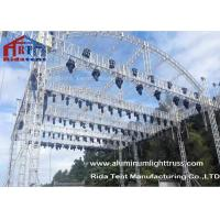 Wholesale Arch Shape Aluminum Stage Truss , Outdoor Truss Structure Truss Display Systems from china suppliers