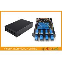 Wholesale SC / LC Fiber Optic Termination Box 4 Port from china suppliers