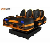 Wholesale Balck / White Steel Material 9D VR Cinema 6 Seats With Pico Helmet from china suppliers