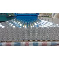 China Custom roofing Corrugated Aluminium Sheeting With Mill Finished Surface on sale