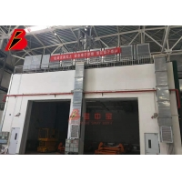 China Bus Truck Electrostatic Industrial Spray Booth on sale