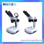 China HANDA HDT-337 Stereo zoom microscope  optical stereo microscope portable stereo microscope for sale