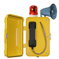 Wholesale Auto Dial Industrial Weatherproof Telephone Vandal Proof With Broadcast from china suppliers